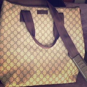 Authentic Gucci Tote/ Computer bag...